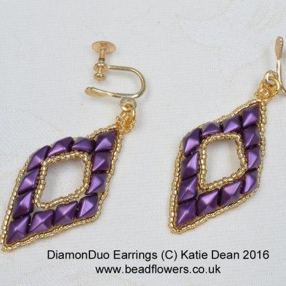 DiamonDuo earrings