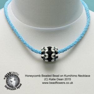 Honeycomb Beaded Beads