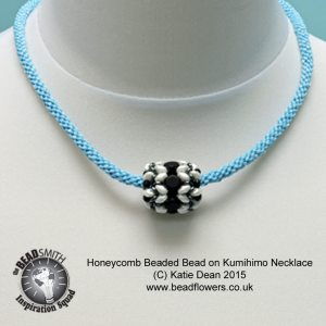 Honeycomb Beaded Beads