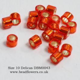 Size 10 Delicas, Katie Dean, Beadflowers