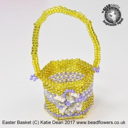 Beaded Easter Basket Pattern