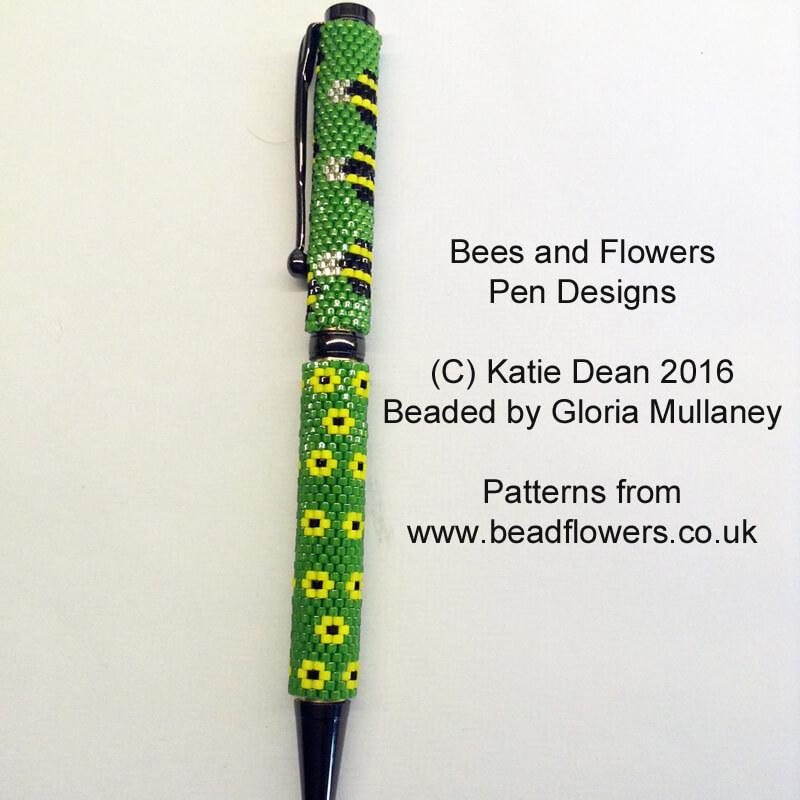 Floral Pen Pattern Bee Pen Pattern