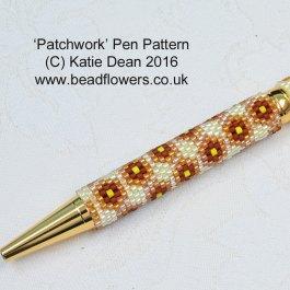 Patchwork Pen Beading Pattern