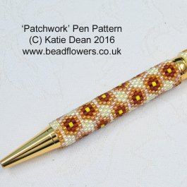 Patchwork Pen Beading Pattern