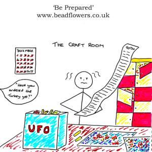 Be Prepared: 3 simple steps to avoid a Christmas beading nightmare, Katie Dean, Beadflowers