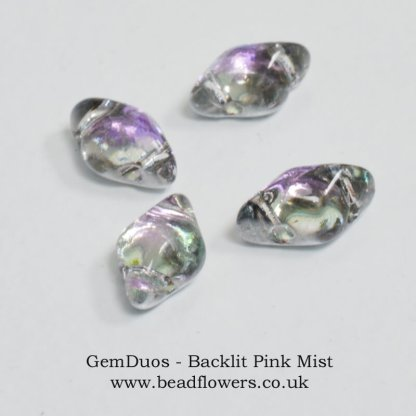 GemDuo Beads UK, 10g packs, Katie Dean, Beadflowers