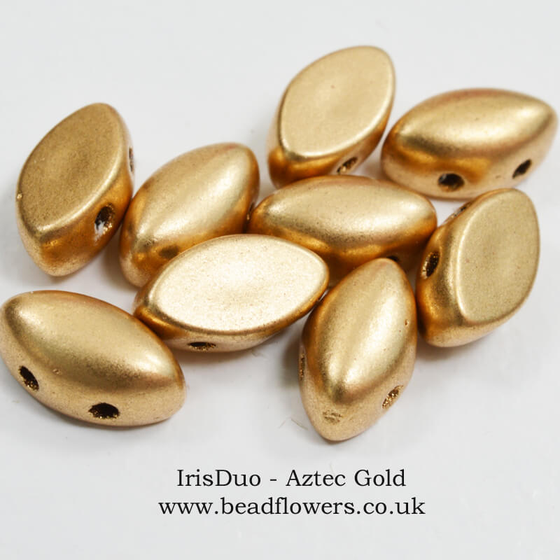 IrisDuo Beads UK 9g Packs, Katie Dean, Beadflowers
