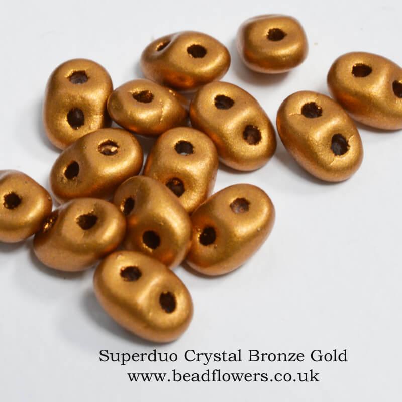 Superduo Beads, 12g packs, Katie Dean, Beadflowers