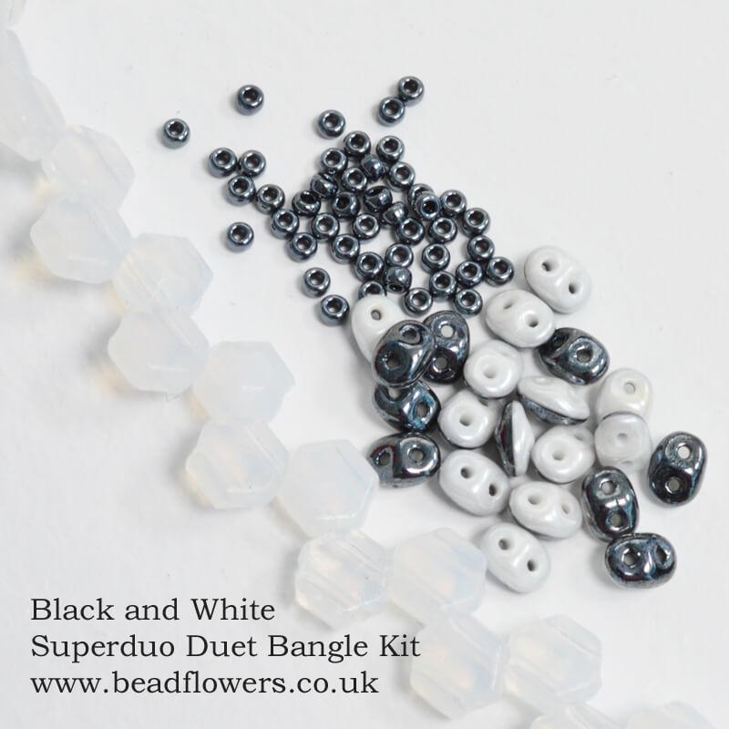 Superduo Duet Bangle Kit, Katie Dean, Beadflowers