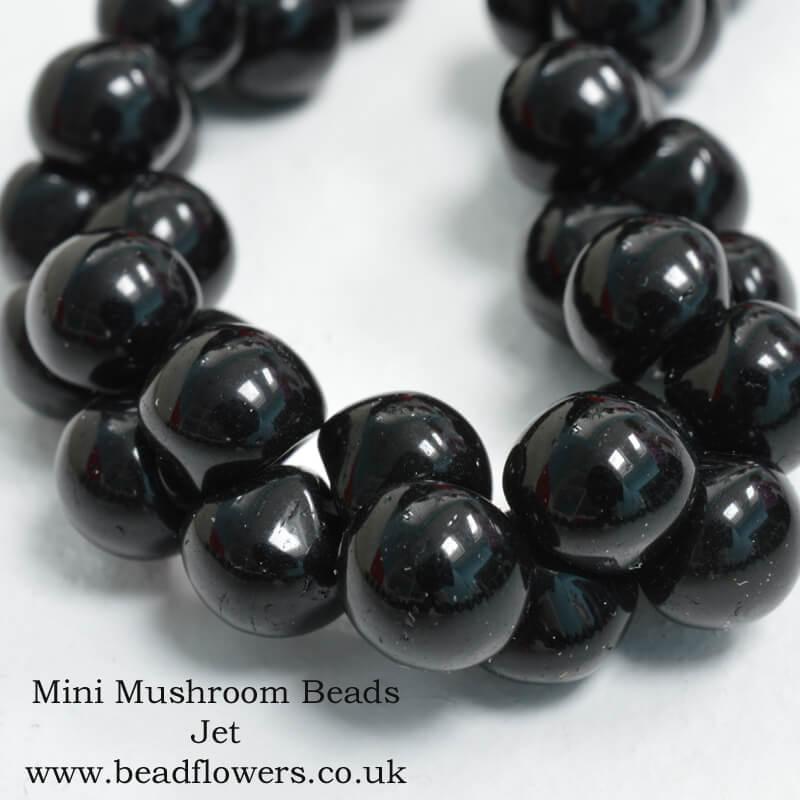 Mini Mushroom Beads, UK, Katie Dean, Beadflowers