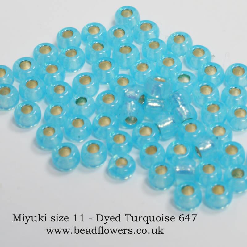 Miyuki seed beads, size 11, 25g packs, Katie Dean, Beadflowers