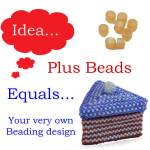Monday Beading Inspiration: How to Create your own Beading Design, Katie Dean, Beadflowers