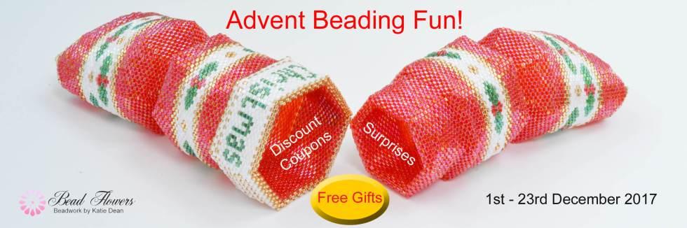 Advent Beading Fun, Katie Dean, Beadflowers
