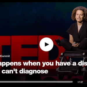 Jennifer Brea CFS/Me TED Talk