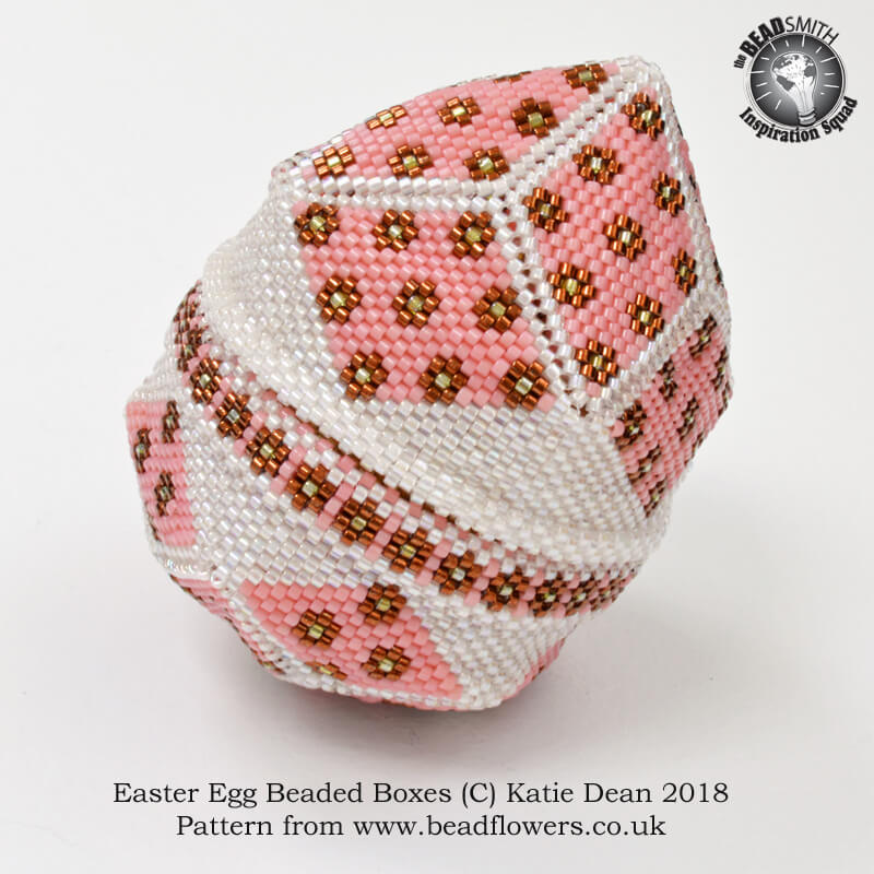 Easter Egg Beaded Boxes, Katie Dean, Beadflowers