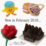 New Beading Projects February 2018, Katie Dean Beadflowers