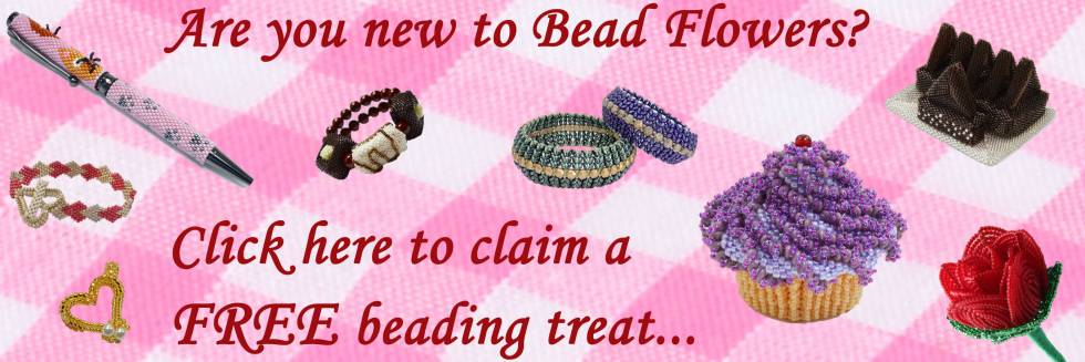 Bead Flowers Beadwork By Katie Dean Patterns Kits Books Classes