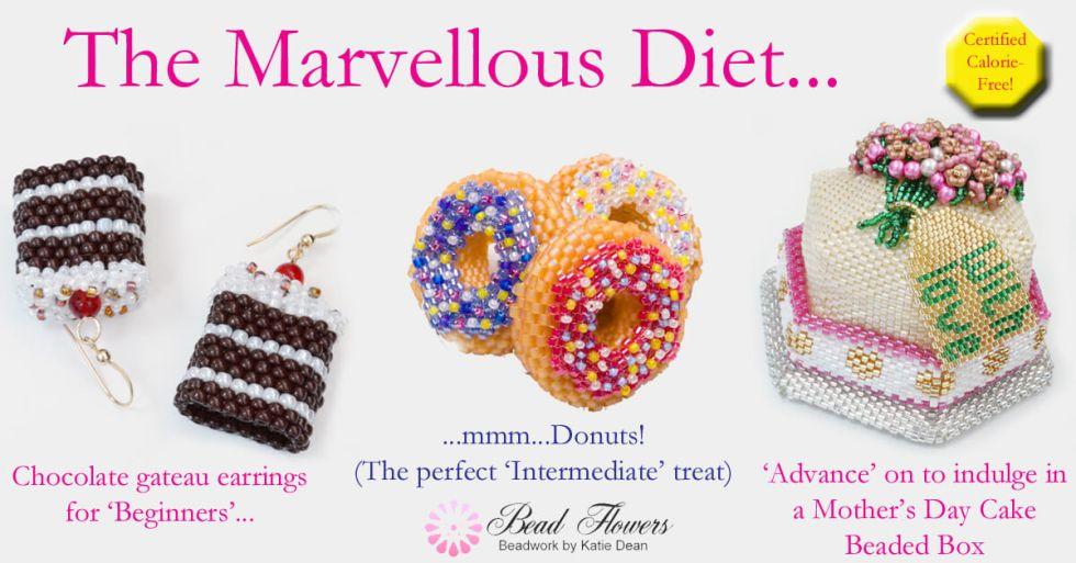 My Marvellous Diet, Katie Dean, Beadflowers