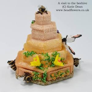 Bead Dreams 2018, A visit to the beehive, Katie Dean, Beadflowers