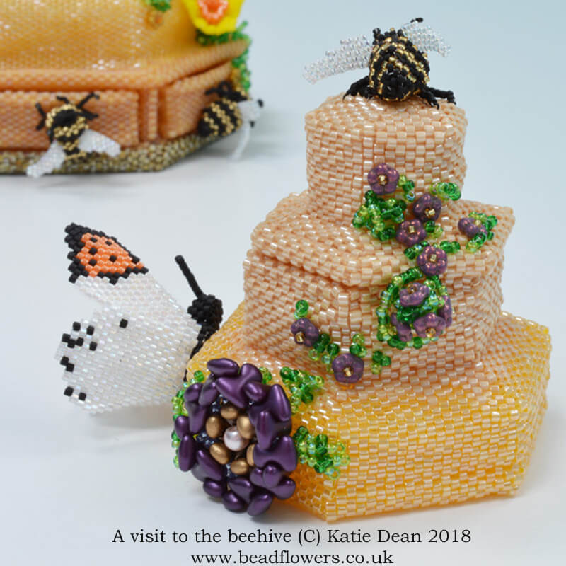 Bead Dreams 2018, A visit to the beehive, Katie Dean, Beadflowers