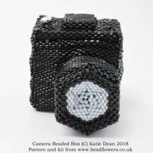 Camera beaded box, Katie Dean, Beadflowers