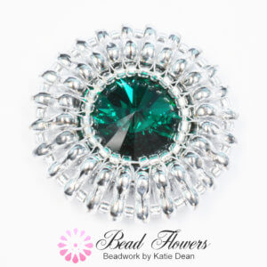International Beading Week 2018, Free Gift, Katie Dean, Beadflowers