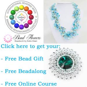International Beading Week 2018, Katie Dean, Beadflowers