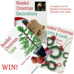 Beaded Christmas Competition, Katie Dean, Beadflowers