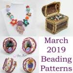 March 2019 Beading Patterns, Katie Dean, Beadflowers