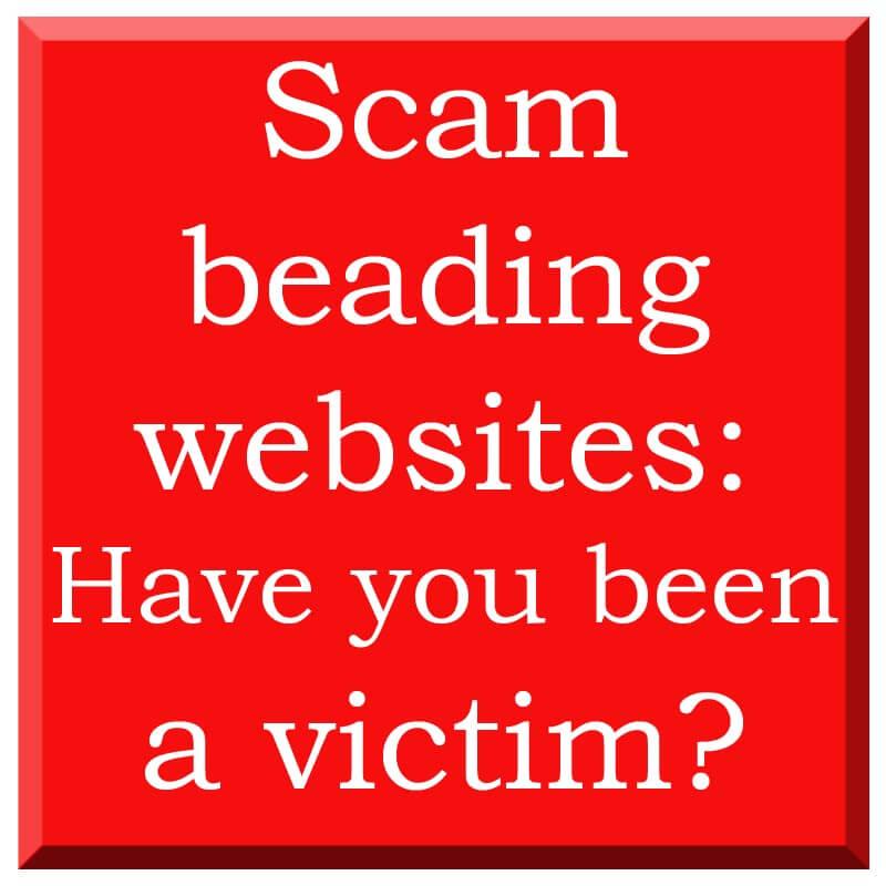 Scam bead websites
