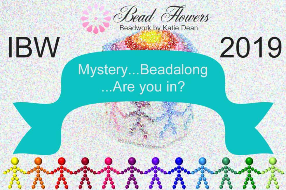 International Beading Week 2019 mystery beadalong with Katie Dean