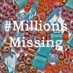 #MillionsMissing, Katie Dean, Beadflowers