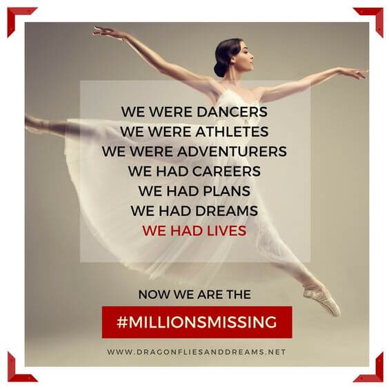 #MillionsMissing Campaign image