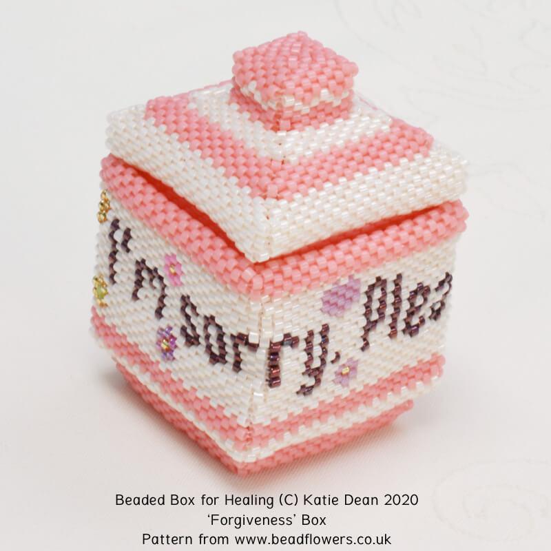 Forgiveness box, Katie Dean, Beadflowers