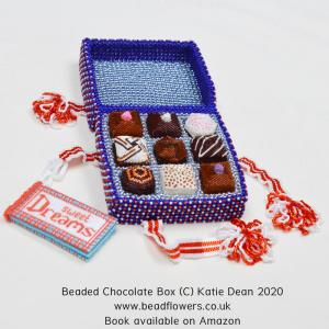 Beaded Chocolate Box book by Katie Dean, Beadflowers