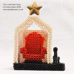 The little red chair, Katie Dean, Beadflowers
