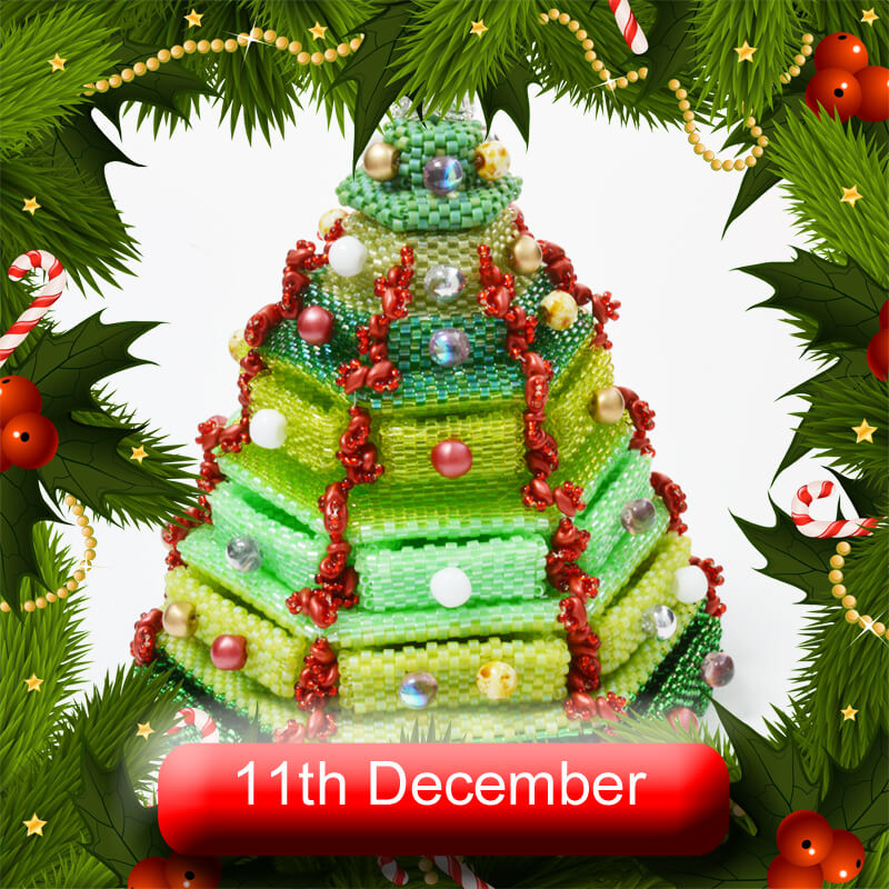 Beadflowers Advent Extravaganza, 11th December 2020