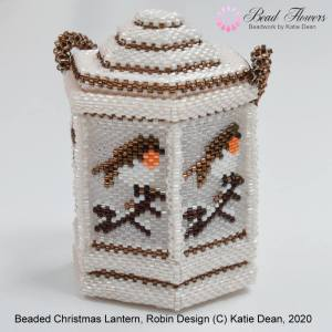 Beaded lanterns, Katie Dean
