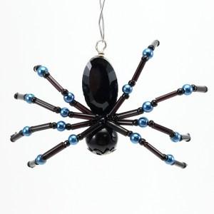 Black Spider Ornament