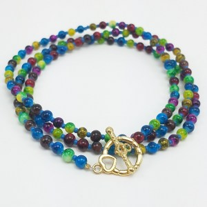 colorful fun necklace