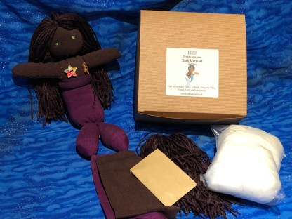 Dark sock mermaid kit