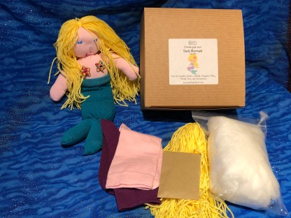 Fair sock mermaid kit