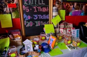 Lots of fun raffle prizes