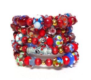 Beading divas fundraising bracelets