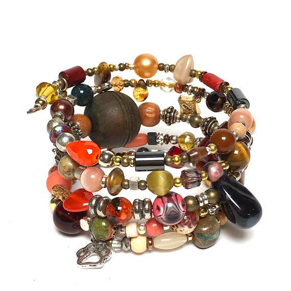 Etsy / Beading Divas bracelet