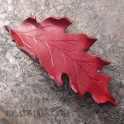 autumn-red-oak-barrette2