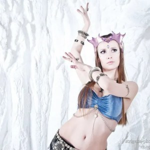 Leather fairy crown