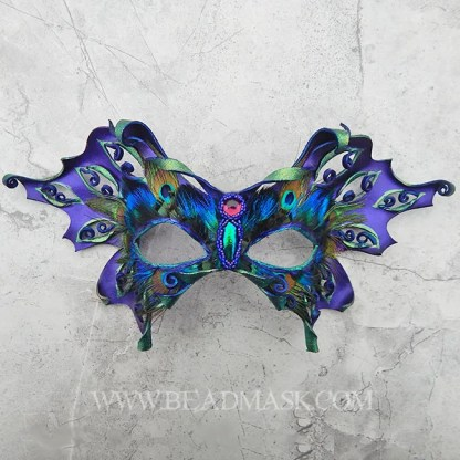 purple fairy mask or butterfly
