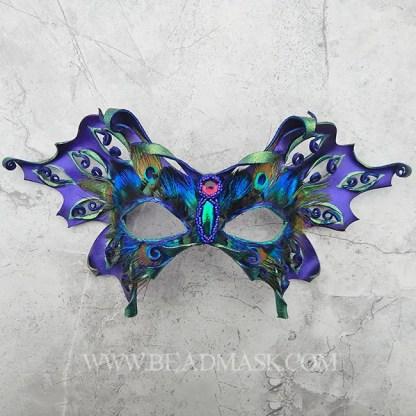 purple fairy mask or butterfly