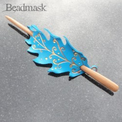 fairy oak leaf hair ornament